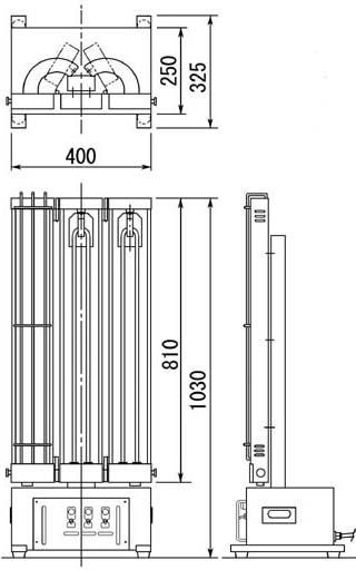 ADT50-III型 外形図