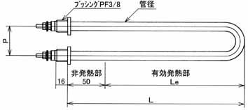 図3 BUA型ヒーター