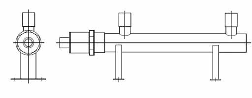 高温用(金属キャップ)脚付タイプ