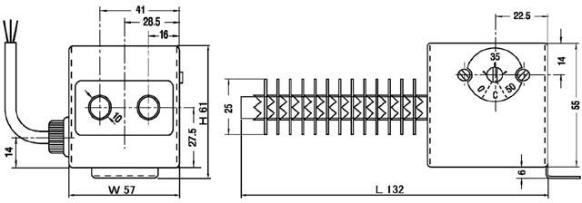 UT型ヒーター