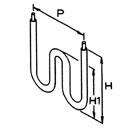 曲げ形状例(図はLU型)