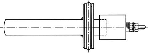 図2 つば付Oリングシール