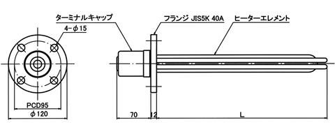 図1 PL4型 外形図