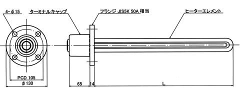 図1 PTIL5型 外形図
