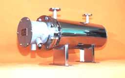 液体加熱用インラインヒーター写真