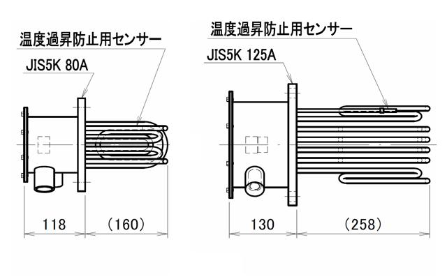 図6 フランジヒーター