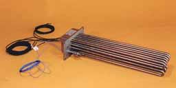 角型フランジヒーター