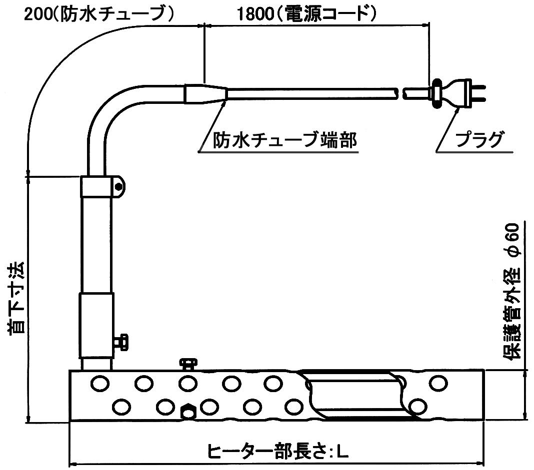 図1 YQIL型 外形図