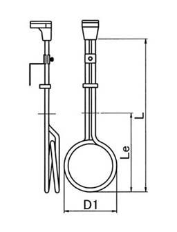 図2 YTFW型各部寸法