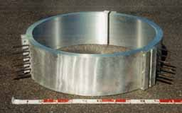 3分割ALC型アルミ鋳込みヒーター