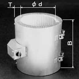 セラミック絶縁バンドヒーター BAJ型
