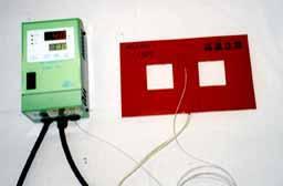 図8 THC-15と温度センサーのセット