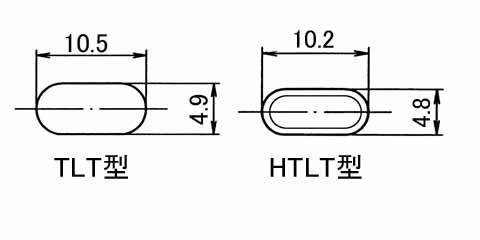 自己制御コードヒーター 断面図 単位:mm