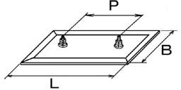 標準型:両側端子型