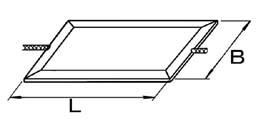 リード線型:両側端子型