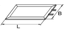リード線型:片端子型