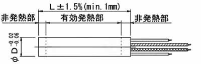 UJ・UL・UM型ヒーター