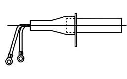 ツバ付防水型