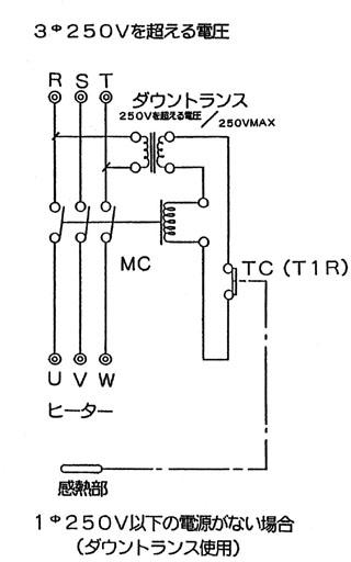 サーモスタット 自動温度調節器 T1R/T7R型 ケース入り
