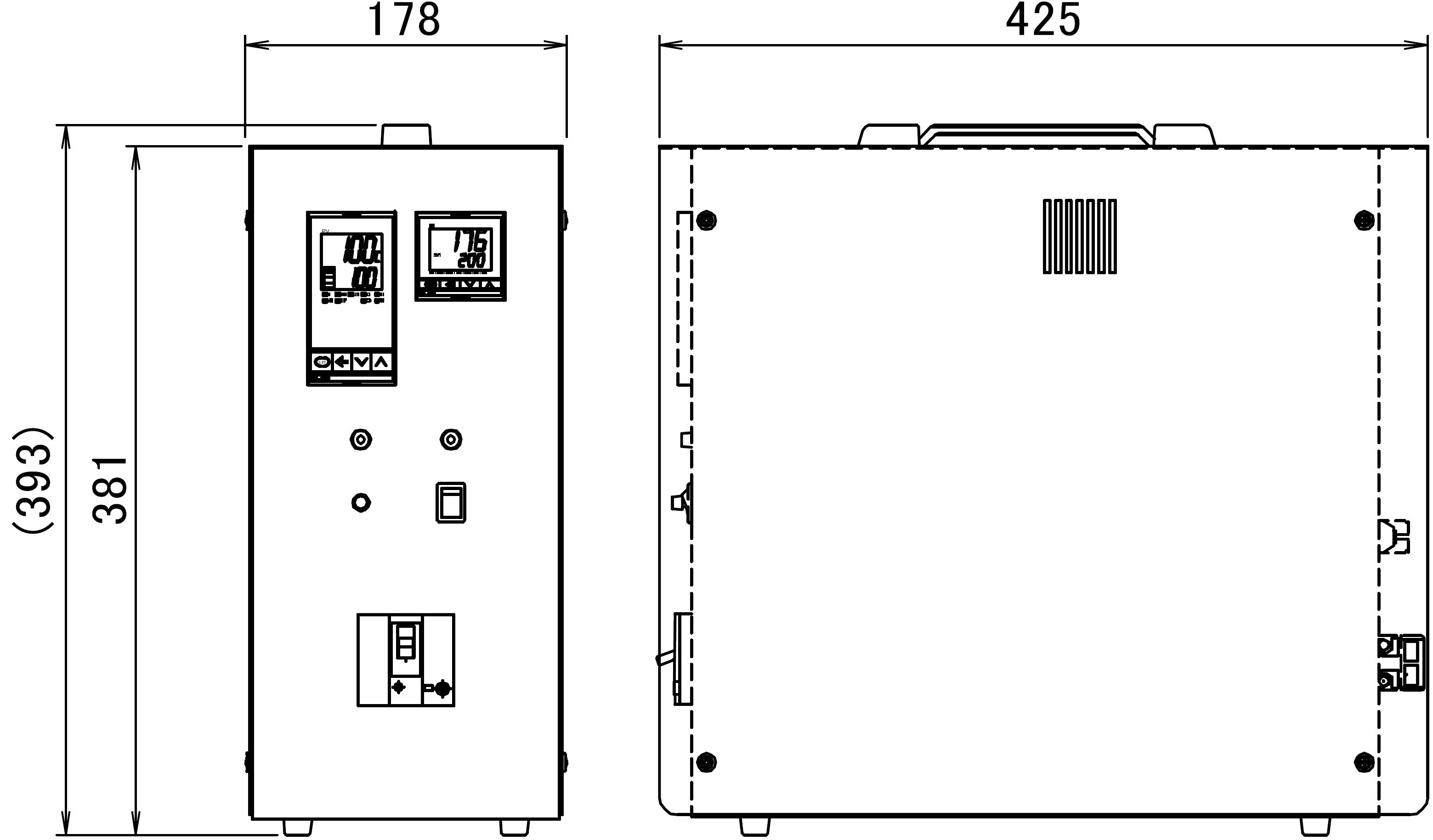 T302外形図
