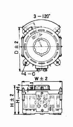 TRSA・TRSC型 100V単相 20~30A