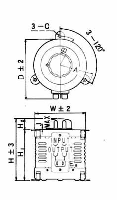 TRSA・TRSC型 100V単相 5~10A