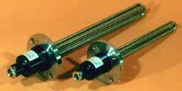 チタン板フランジヒーター