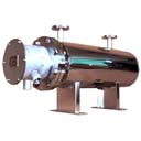 空気加熱シェル型ヒーター