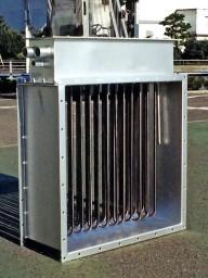 ダクトヒーター200V3P24kW
