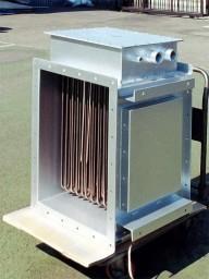 ダクトヒーター200V3P55kW